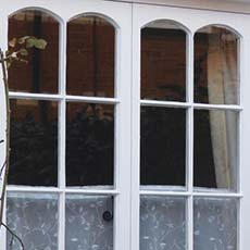 Traditional timber framed window