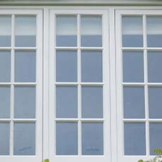 Traditional wood windows